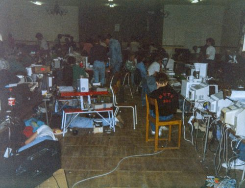Pictures from the Commodore 64 scene in the 80s, part 3: Furulund August 1989