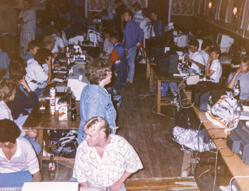 Pictures from the Commodore 64 scene in the 80s, part 1: The Tommerup party