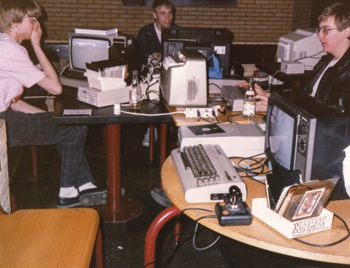 Pictures from the Commodore 64 scene in the 80s, part 2: The Ikari & Zargon Party 1989