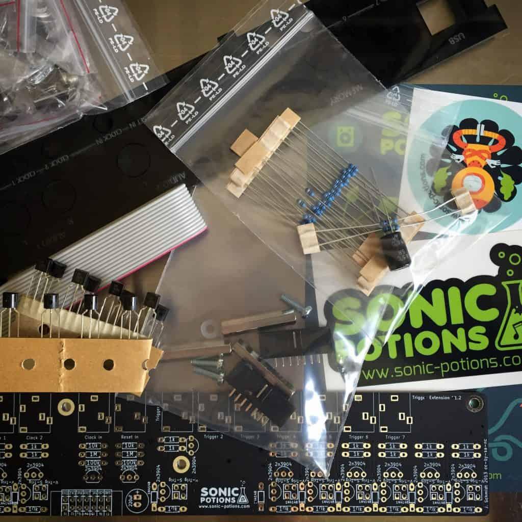 Sonic Potions LXR trigger i/o DIY kit