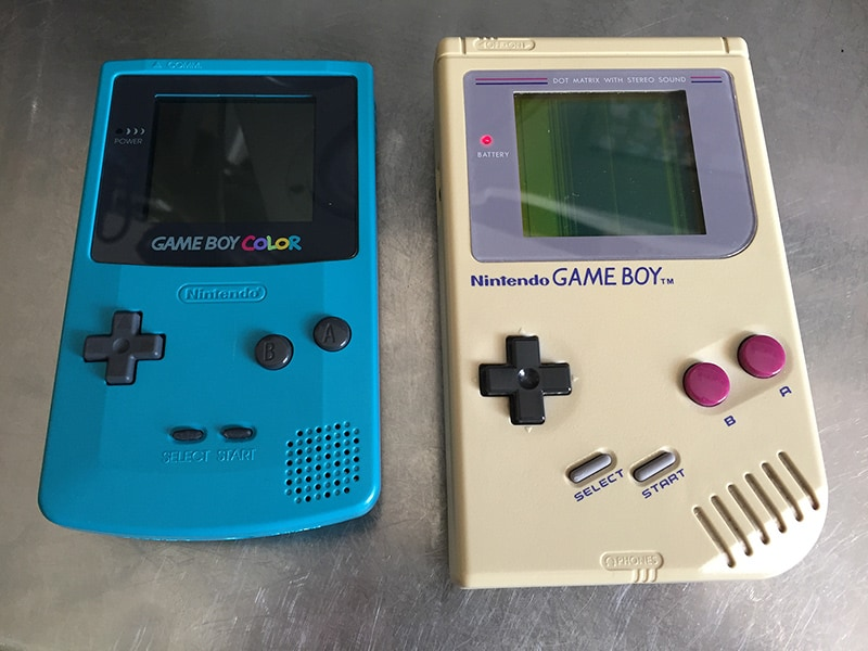 Gameboy Color and Gameboy DMG-01