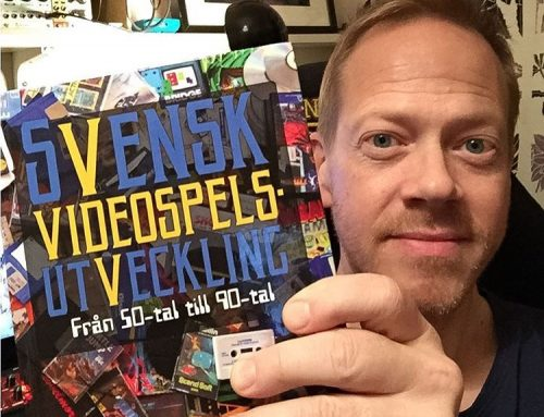 I'm in the book Svensk Videospelsutveckling (Swedish video game development)