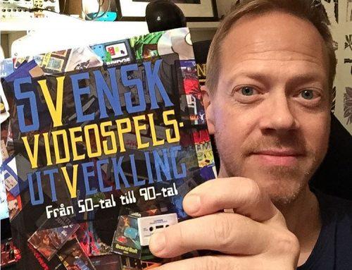 I'm in the book Svensk Videospelsutveckling (Swedish video game development)