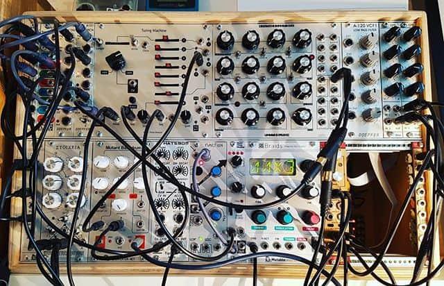 Eurorack modular setup