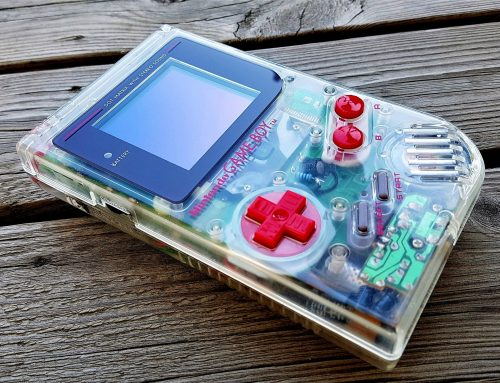 My Play It Loud Gameboy Clear with 7 mods