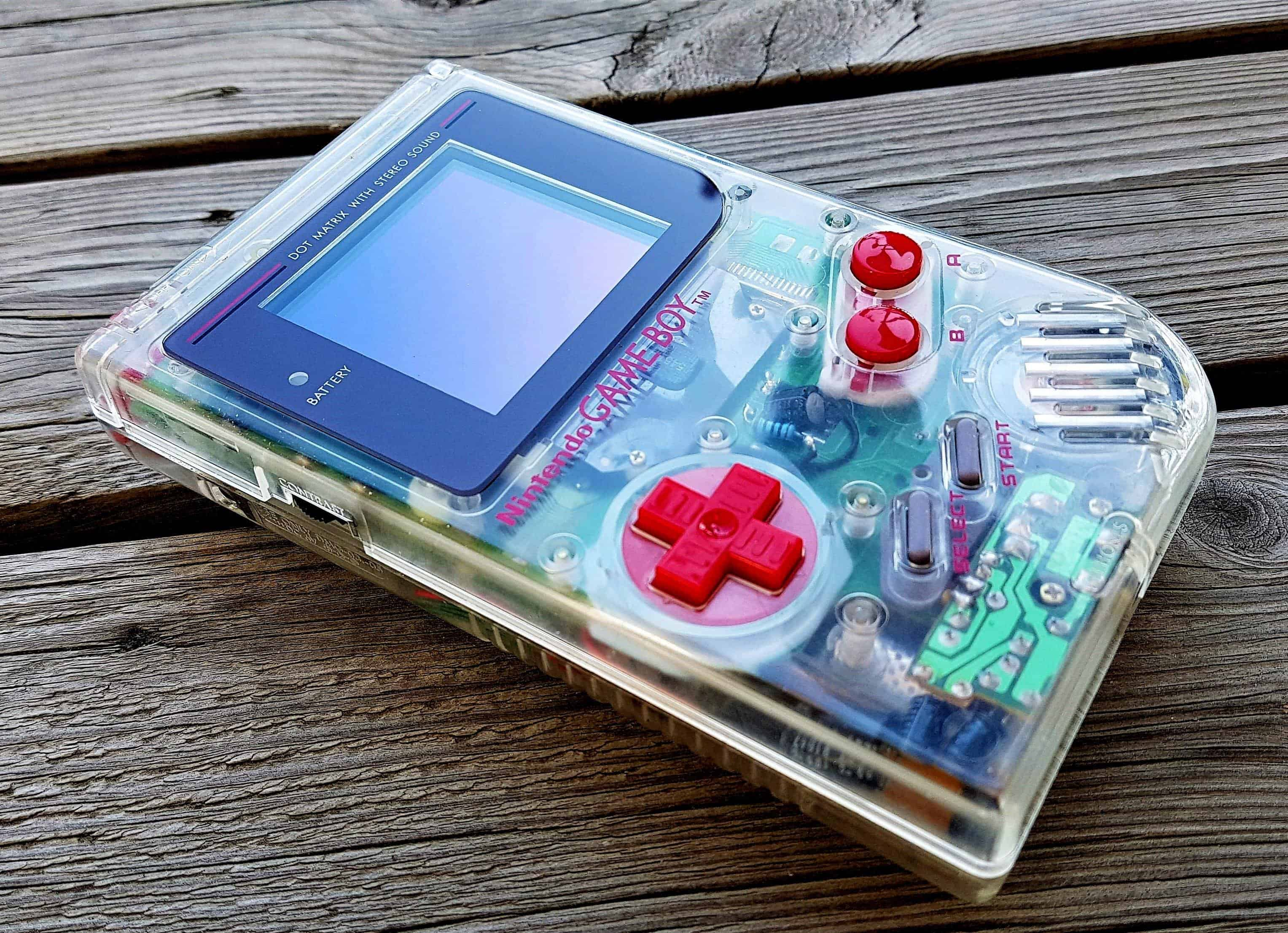 Game boy clear 2018 modded