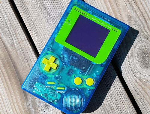 I completed another Game Boy build. This one has 10 mods