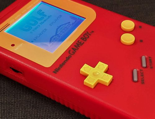 Finished another modded Game Boy DMG-01