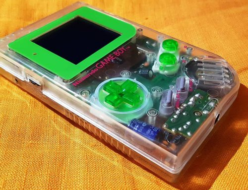 Another beautiful modded Gameboy DMG-01 Clear