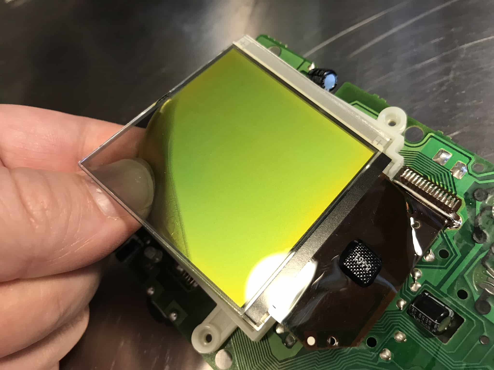 Game Boy Backlight mod