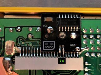 Game Boy Backlight and Bivert mod
