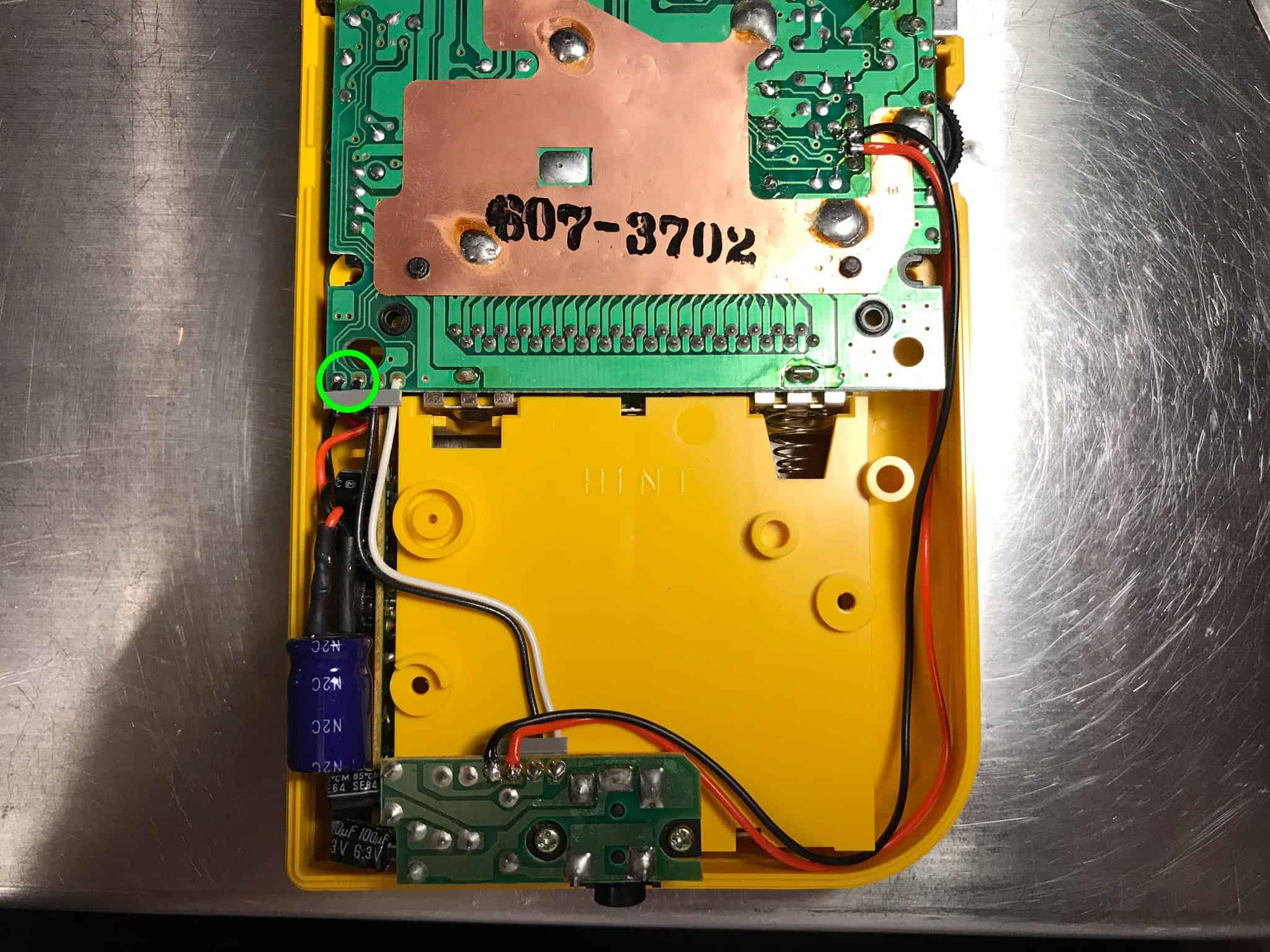 Game Boy Prosound mod