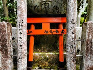 Small gate at Fushimi Inari