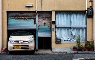 Kyoto house closeup