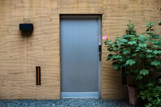 Kyoto modern house entrance
