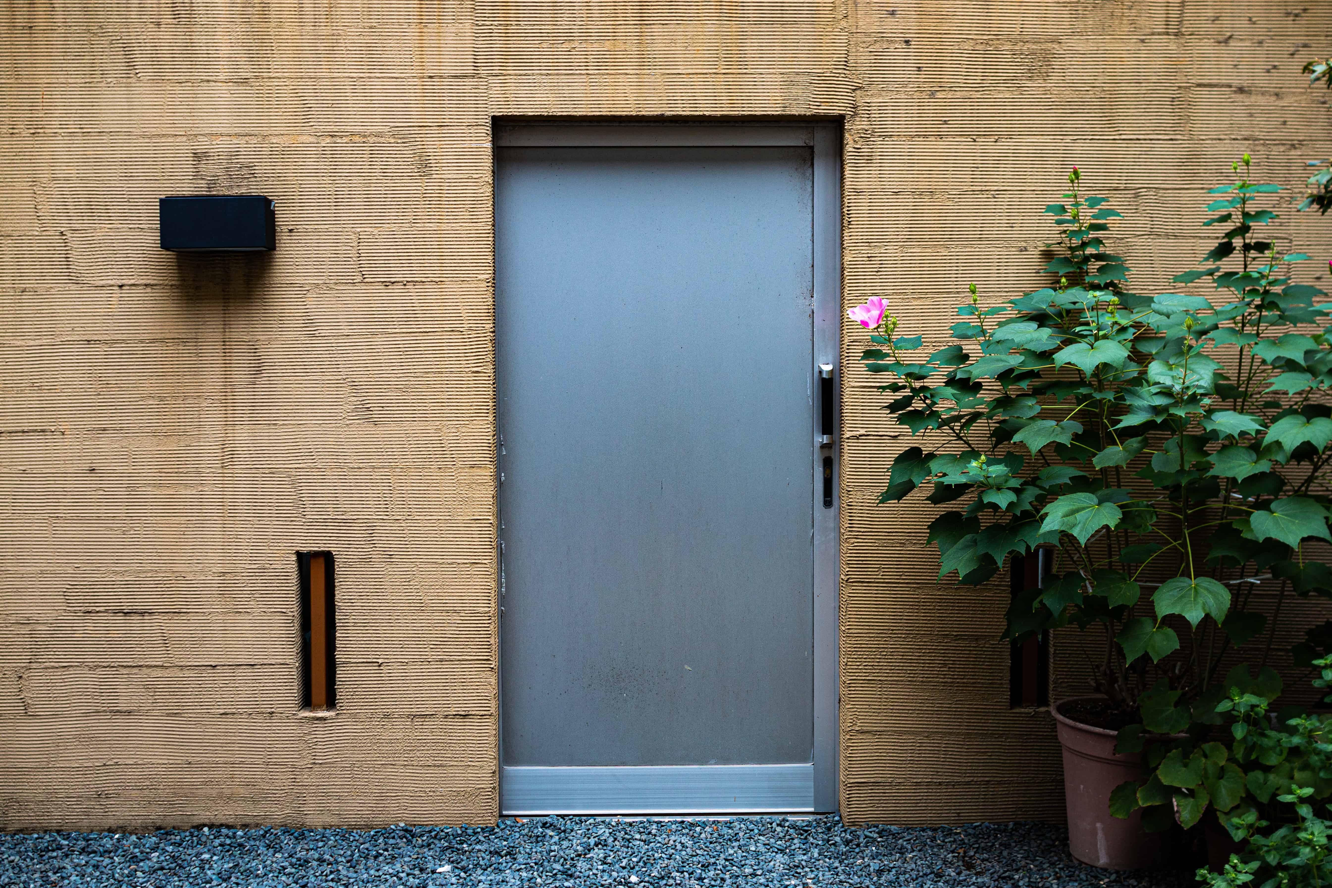 Kyoto modern house entrance