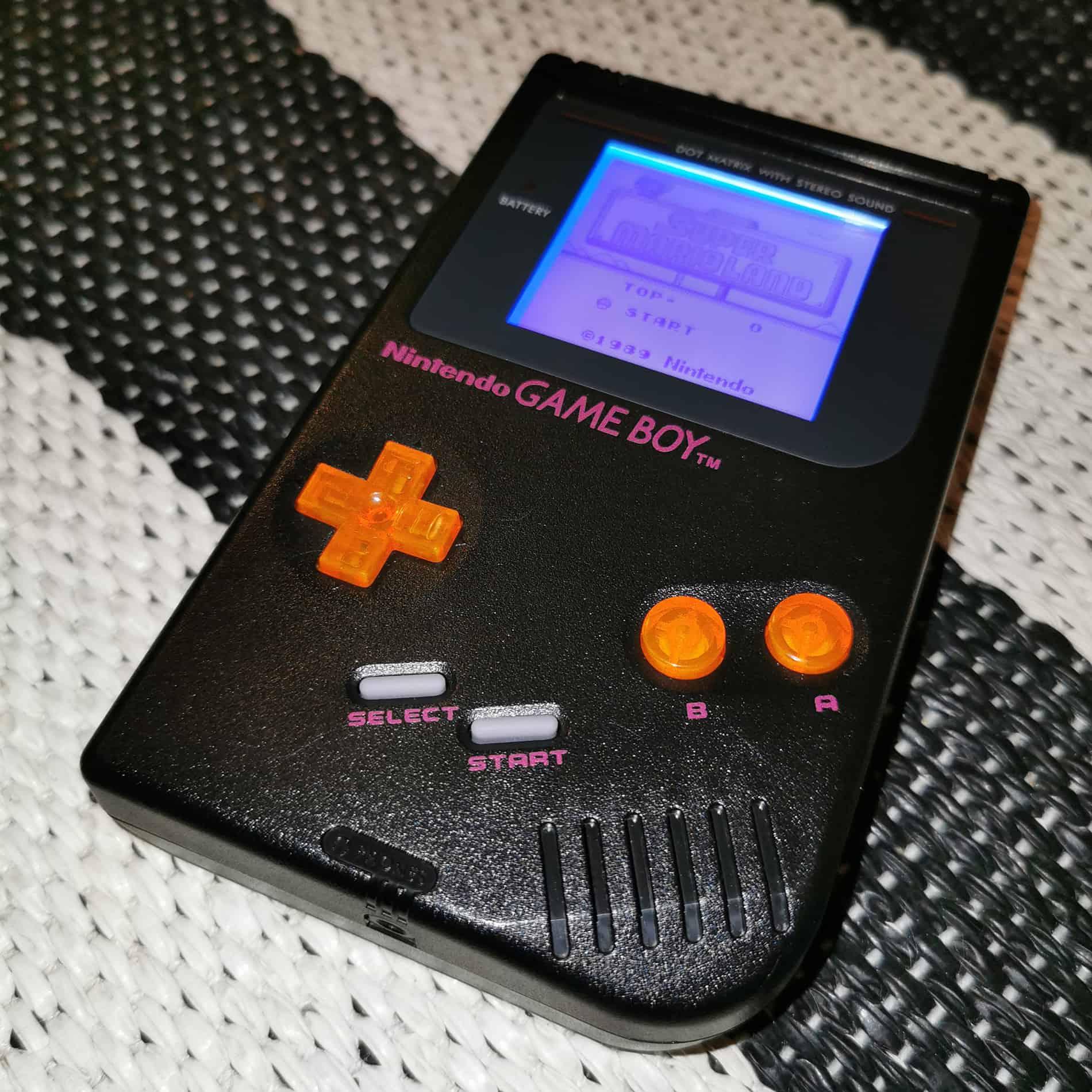 Game Boy DMG-01 Black