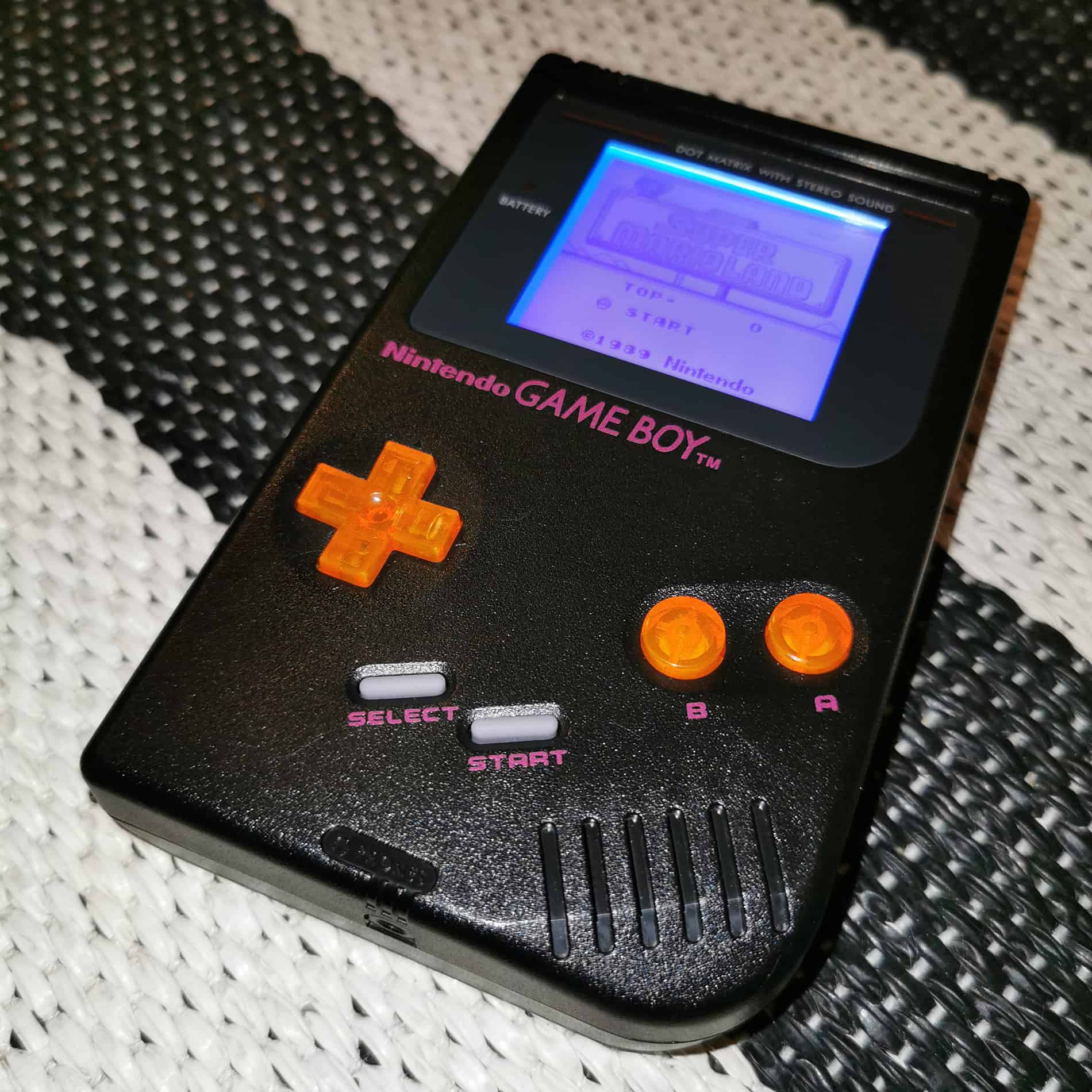 Game Boy DMG-01 Black