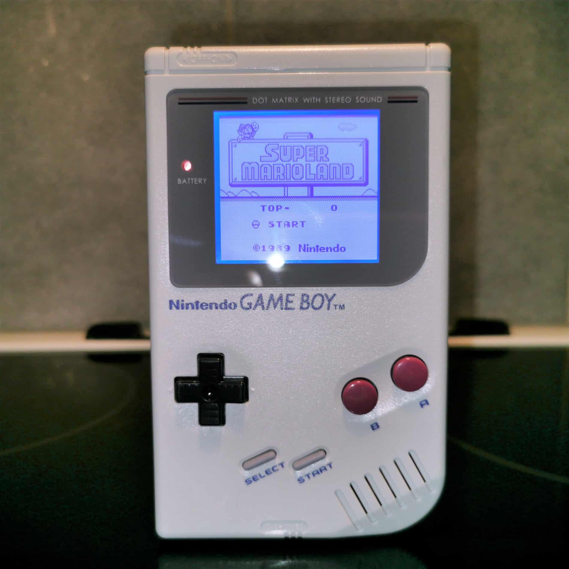 Game Boy DMG-01 Gray