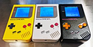 Game Boy DMG-01 Yellow, Gray, Black