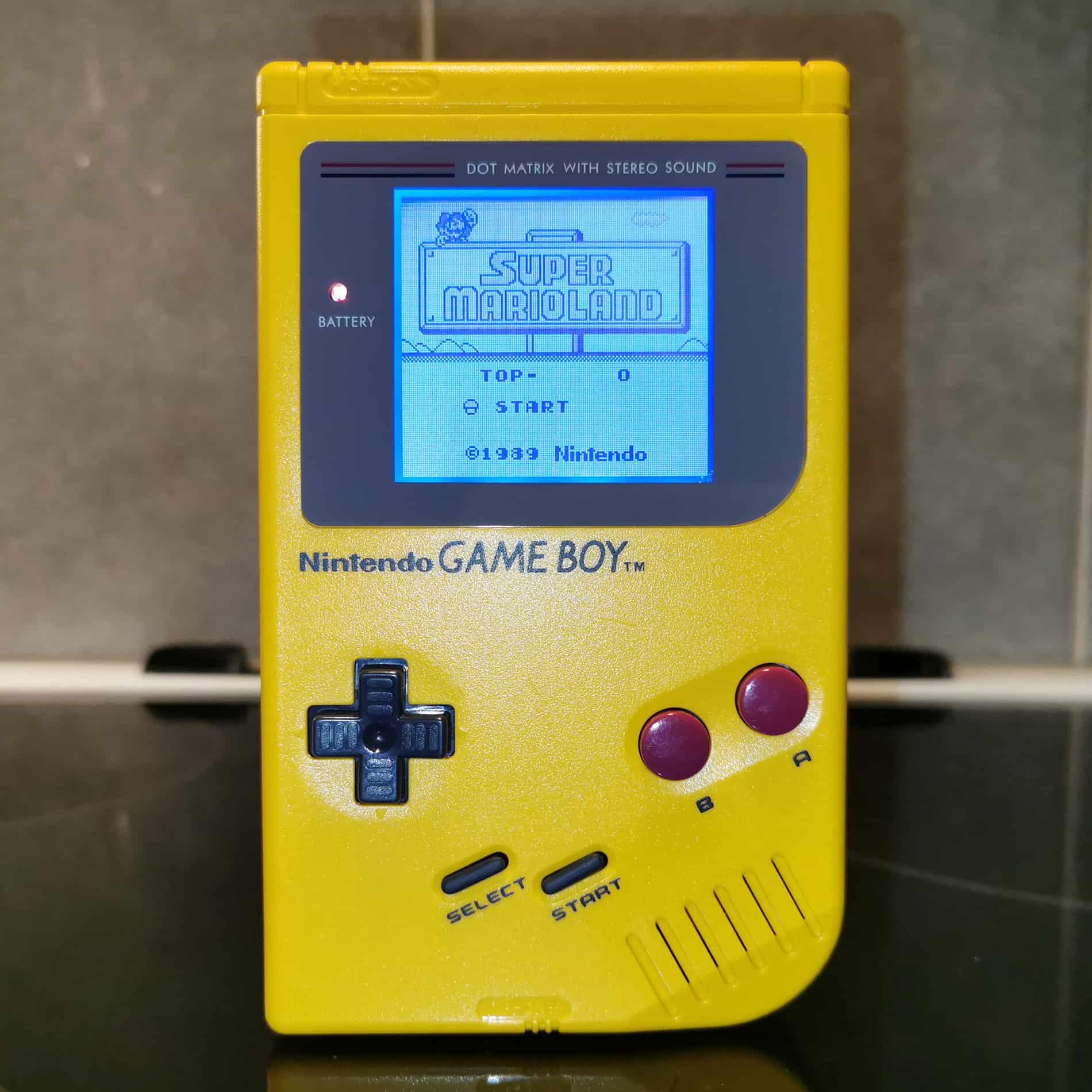 Game Boy DMG-01 Yellow