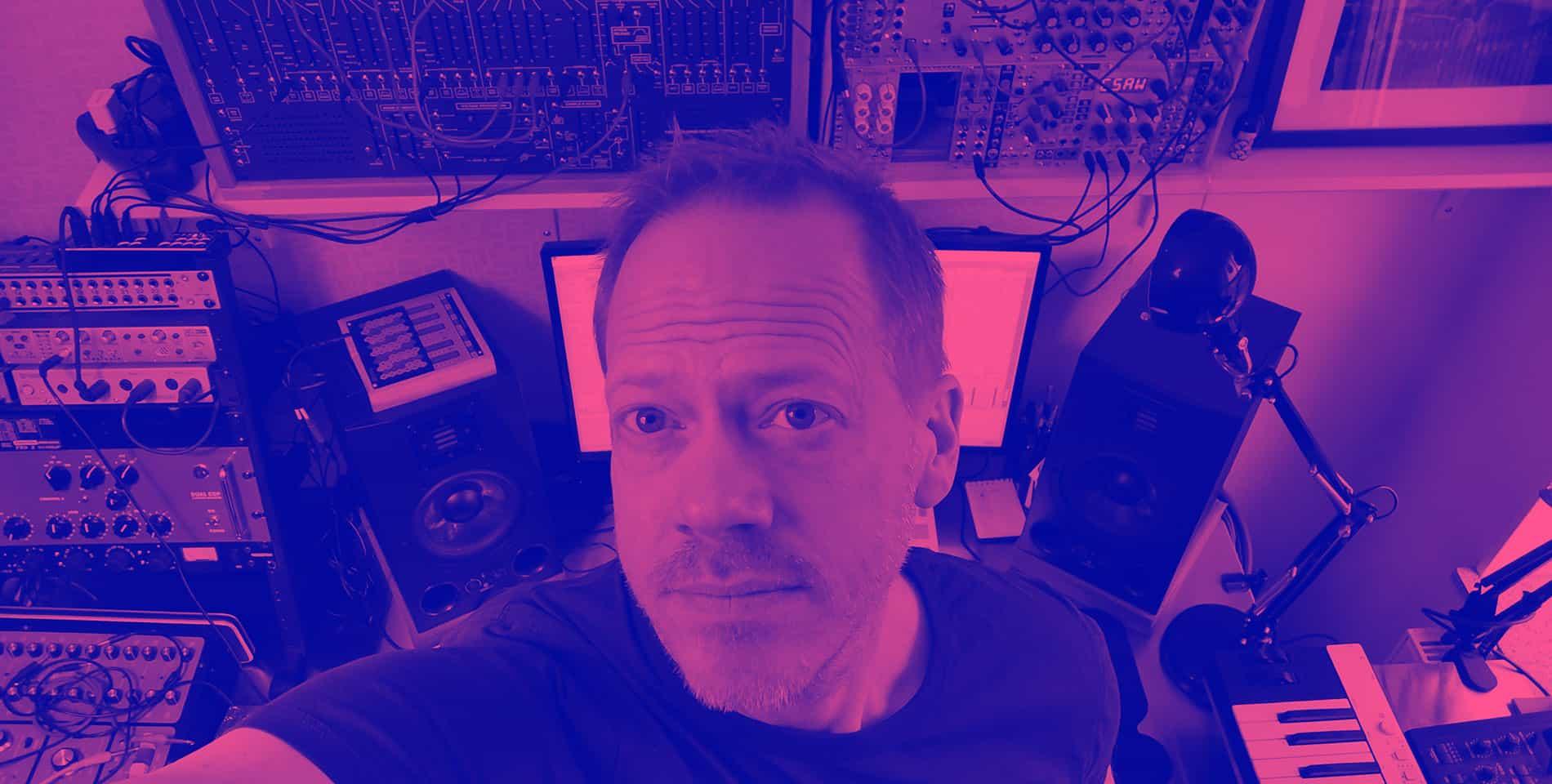 Me in the studio 2020
